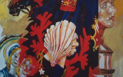 Schilderij voor de Contrada del Nicchio, Siena