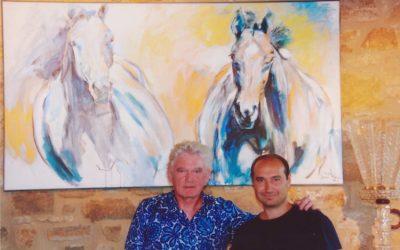 Mijn paarden bij Tomasso Cavalli