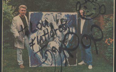 Krantenartikel: Lust fot life / Iggy pop