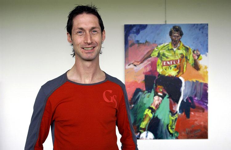 Fotosessie spelers Roda JC en hun portret