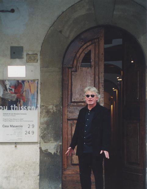 Expo Lou Thissen in het Museo Casa Masaccio