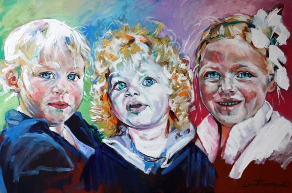 Dominique, Michelle en Adelaide