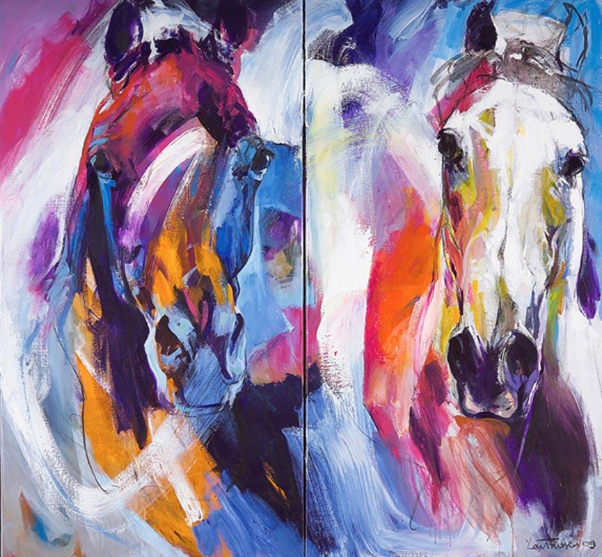 Paarden (2 luik)