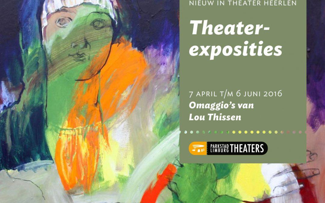 Theater exposities: Ommagio's van Lou Thissen