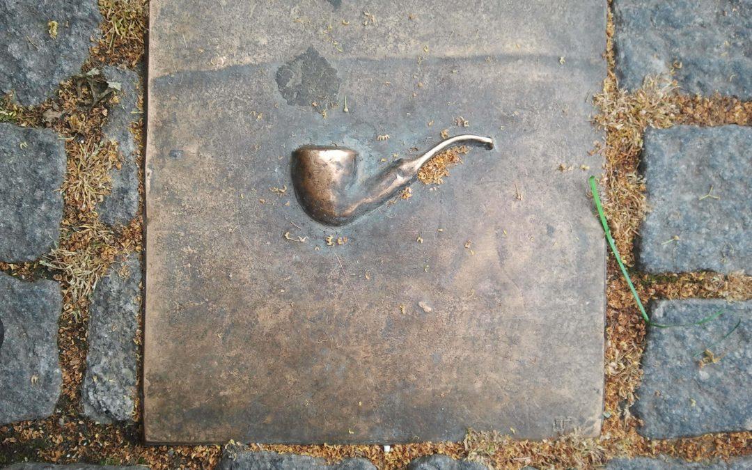Bronzen tegels Jos Pasmans (Markt Kerkrade)